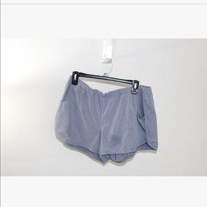 Grey Athleta Running Shorts